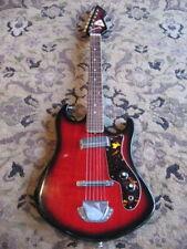 circa 1960s Noble  electric guitar Teisco JAPAN