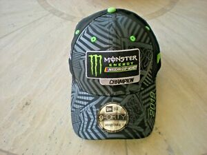 Monster Energy Nascar Cup Series Champion #18 Kyle Busch Hat New Era NEW