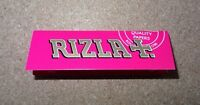 New!! Rizla Pink Standard Regular Size Quality Rolling Papers - 5 Booklets