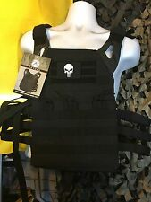 """AR500 Level III 10""""x12"""" Curved Steel & Rothco Lightweight Carrier & Patch"""