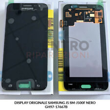 DISPLAY LCD TOUCH SCREEN ORIGINALE SAMSUNG GALAXY J5 2015 SM-J500F NERO BLACK