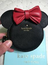 New In Box! Kate Spade Limited Edition Collector Minnie Mouse Coin Purse Wallet