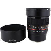 New Samyang 85mm f/1.4 UMC IF Lens for Sony E & FE Mount - 3 Year Warranty