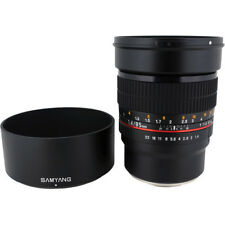 New Samyang 85mm f/1.4 UMC IF Lens for Sony E & FE Mount - 3 Year Warranty