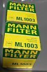 Mann ML 1003 (7015) Oil Filter Lot Of *2* *Crosses to Wix 51348 Fram PH3614*
