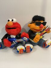 Vintage Tyco 1998 Rock And Roll Ernie & Elmo! Sesame Street