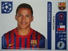 Panini 495 Alexis Sanchez FC Barcelona UEFA CL 2011/12