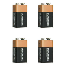 4 x Duracell 9V Volt MN1604 Alkaline Battery
