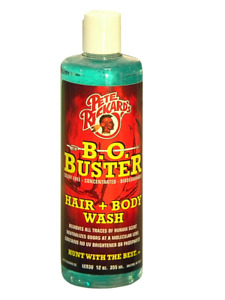 PETE RICKARDS BO BUSTER SCENT FREE HAIR + BODY WASH HUNTING SCENT ELIMINATOR