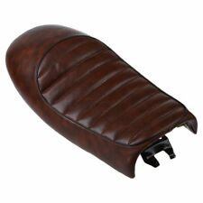 Brown Retro Vintage Motorcycle Seat Saddle Cover Hump Cafe Racer For Honda O3R7
