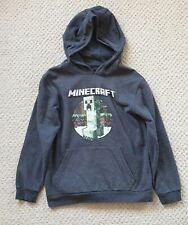 Minecraft Grey Hoodie - Age 8-9 - Good Condition