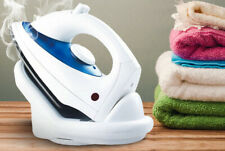 Cordless Steam Iron Water Spray Adjustable Temperature Water Tank Non Stick Dry*