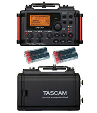 Tascam DR-60DmkII Portable Recorder w/4 Universal Electronics AA Batteries New