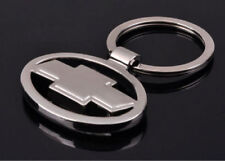 Chevrolet Car Logo Keychain 3D Chrome Metal Car key Chain keyring With Logo