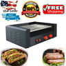 1350W Commercial Electric 7Roller HotDogs Cooker for Business Grill Machine