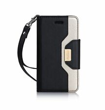 iPhone SE / 5S Case Cover, ProCase Wallet Flip Case, with Wristlet Strap, Bui...