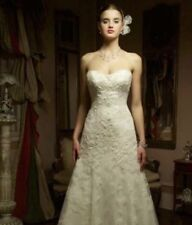 Casablanca bridal wedding Lace dress Style C 1827 Size 2