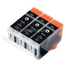 3 CANON Patronen mit Chip PGI5 bk IP3300 IP3500 IP4200 IP4500 IP5200R MP850