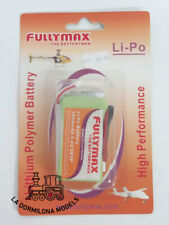 EDK18 FULLYMAX BATERIA LIPO PARA ELICOPTERO / AVION 1050mAh 7.4v 2s1p