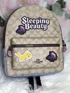 Disney X Coach Charlie Princess Sleeping Beauty Limited Edition Backpack F72819