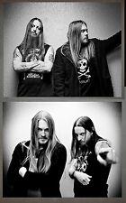 Dark Throne Promo Photo Lot 8x10 Bathory Mayhem Carpathian Forest Darkthrone