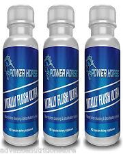 3/VITALY FLUSH COLON CLEANSE Detox Cleanser Pills cleansing diet supplement pill