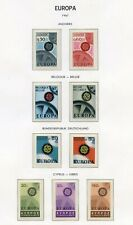 STAMP / TIMBRE EUROPA CEPT / DE L'ANNEE 1967/ TIMBRES NEUFS