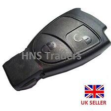 NEW For MERCEDES BENZ SMART KEY *FOB REMOTE 2 BUTTON SHELL CASE C E REPAIR/logo*