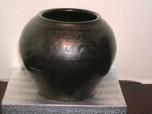 "Antique NORTH CAROLINA POTTERY - North State Pottery Co. POT / PLANTER, 5""H"