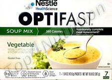 OPTIFAST 800 SOUP | 6 BOXES | VEGETABLE | 42 SERVINGS | NEW FORMULA