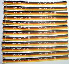 1 Dozen W.W.J.D.  Wrist bands Rainbow  What would Jesus Do?  Christian Bracelets