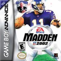 Madden NFL 2002 - Nintendo GBA Game Boy Advance AA