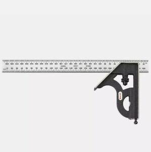 STARRETT 11MH-300 Combination Square,300mm,2 Pc NEW IN BOX