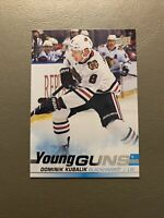 2019-20 Upper Deck Young Guns Dominik Kubalik #246 Rookie RC Chicago Blackhawks