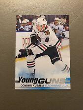 2019-20 Upper Deck Young Guns Dominik Kubalik #246 Rookie RC Chicago Blackhawks