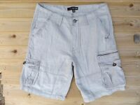 "MEN`S NEW GUESS CARGO COMBAT SHORTS SIZES 28-30-31-32-33-34-36-38-40"" - RRP £40"