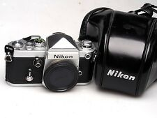Nikon f2 + de-1 Eye Level Finder + CASE