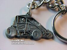 non wing USAC sprint Quarter Midget keychain dirt Tracey's racing jewelry NW-K