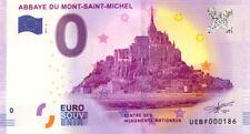 50 MONT-SAINT-MICHEL Abbaye, V° Big Ben, 2017, Billet 0 € Souvenir