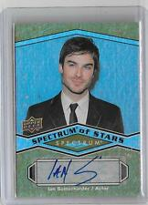 IAN SOMERHALDER 2009 UPPER DECK SPECTRUM OF STARS AUTOGRAPH  -VAMPIRE DIARIES