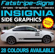 VAUXHALL INSIGNIA GRAPHICS STICKERS STRIPES DECALS VXR OPEL TURBO V6 1.4 1.6 2.0