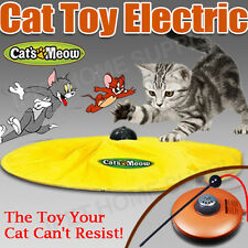 Electronic Cat Toy Fabric Cat's Meow Undercover Moving Mouse Fun