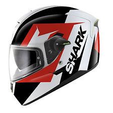 Shark Skwal Sticking Motorcycle Helmet Black/White/Red XL 61-62 cm RRP $399.00