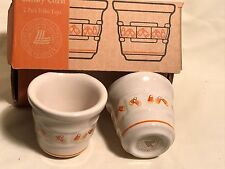 Longaberger Candy Corn Votive Set Nib