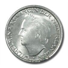Curacao Wilhelmina 1/10 Gulden 1948 BU KM-48