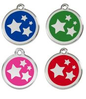 Red Dingo®  Dog Tag / Identity Tag | Engraved & Personalised | STAR Design