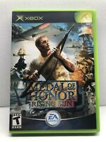 Medal of Honor: Rising Sun (Microsoft Xbox, 2003) Complete w/ Manual - Tested