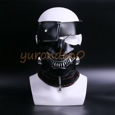 2017 Tokyo Ghoul Ken Kaneki Mask Cosplay Adult Latex Halloween Party Mask New