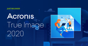 Acronis True Image 2020  (No Box or CD - Download only) Original License Code