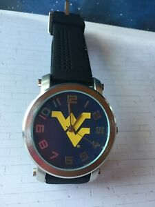 Men's University of West Virginia Mountaineers Licensed Silicone Casual Watch